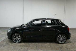 2017 Audi A1 8X MY17 Sport Sportback S Tronic Mythos Black 7 Speed Sports Automatic Dual Clutch.