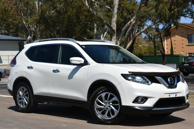 Used Nissan X-Trail T32 Ti X-tronic 4WD, 2014 Nissan X-Trail T32 Ti X-tronic 4WD White 7 Speed Constant Variable Wagon