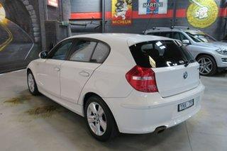 2011 BMW 118i E87 MY11 118i White 6 Speed Automatic Hatchback