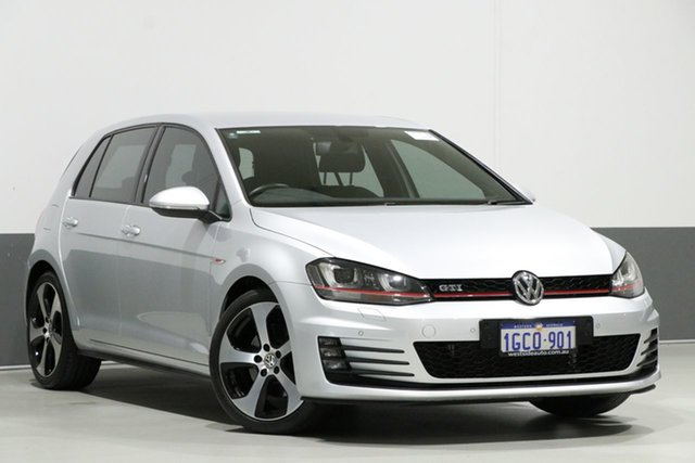 Used Volkswagen Golf AU MY16 GTi, 2016 Volkswagen Golf AU MY16 GTi Silver 6 Speed Manual Hatchback