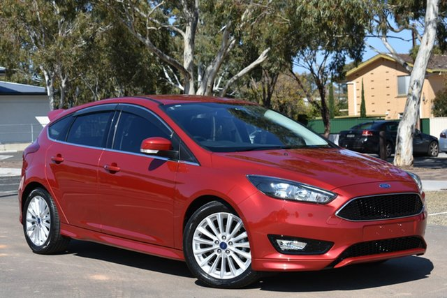 Used Ford Focus LZ Sport, 2016 Ford Focus LZ Sport Red 6 Speed Automatic Hatchback