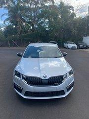 2019 Skoda Octavia NE MY19 RS Sedan DSG 180TSI Silver 7 Speed Sports Automatic Dual Clutch Liftback.