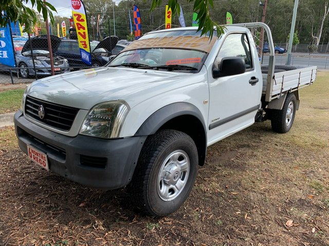 Used Holden Rodeo RA LX, 2005 Holden Rodeo RA LX White 4 Speed Automatic Cab Chassis