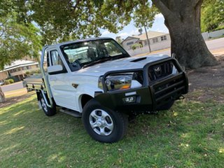 2018 Mahindra Pik-Up MY18 S6 White 6 Speed Manual Cab Chassis.