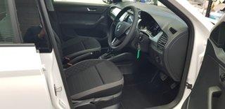 2019 Skoda Fabia NJ MY19 81TSI DSG White 7 Speed Sports Automatic Dual Clutch Wagon