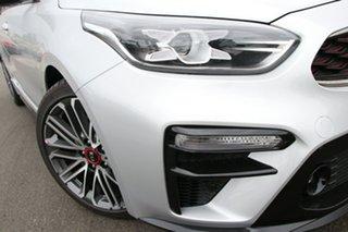 2021 Kia Cerato BD MY21 GT DCT Silky Silver 7 Speed Sports Automatic Dual Clutch Sedan.