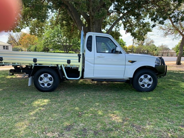 New Mahindra Pik-Up MY18 S6, 2018 Mahindra Pik-Up MY18 S6 White 6 Speed Manual Cab Chassis