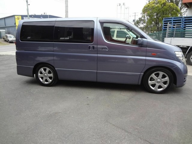 Used Nissan Elgrand  Highway Star, 2004 Nissan Elgrand NE51 Highway Star Blue 5 Speed Automatic Wagon