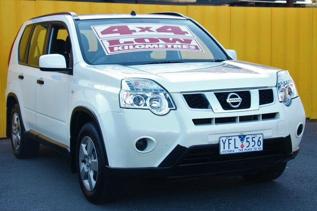 Used Nissan X-Trail T31 Series IV ST, 2011 Nissan X-Trail T31 Series IV ST White 1 Speed Constant Variable Wagon