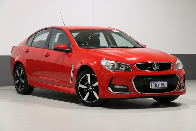 Used Holden Commodore VF II MY17 SV6, 2017 Holden Commodore VF II MY17 SV6 Red 6 Speed Automatic Sedan