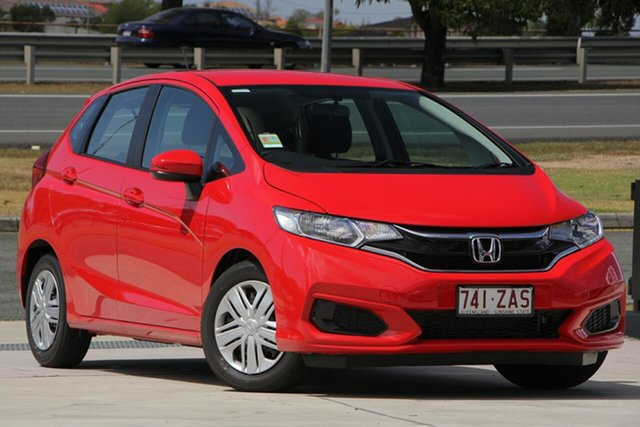 Demo Honda Jazz GF MY20 VTi, 2019 Honda Jazz GF MY20 VTi Rallye Red 1 Speed Constant Variable Hatchback