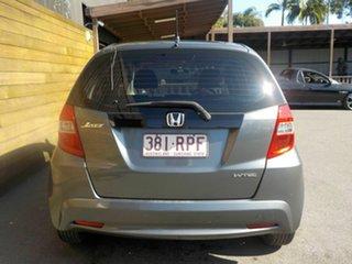 2011 Honda Jazz GE MY11 GLi Grey 5 Speed Automatic Hatchback