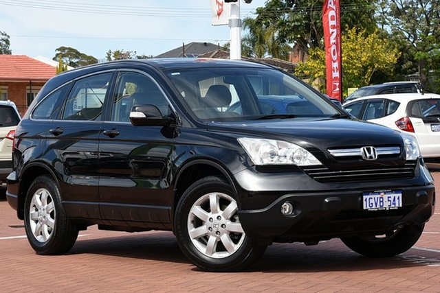 Used Honda CR-V RE MY2007 Luxury 4WD, 2009 Honda CR-V RE MY2007 Luxury 4WD Nighthawk Black 5 Speed Automatic Wagon