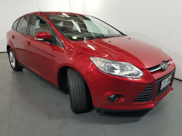 Used Ford Focus LW MkII Trend, 2013 Ford Focus LW MkII Trend Red 5 Speed Manual Hatchback