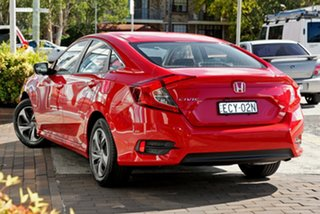 2019 Honda Civic 10th Gen MY19 VTi Rallye Red 1 Speed Constant Variable Sedan.