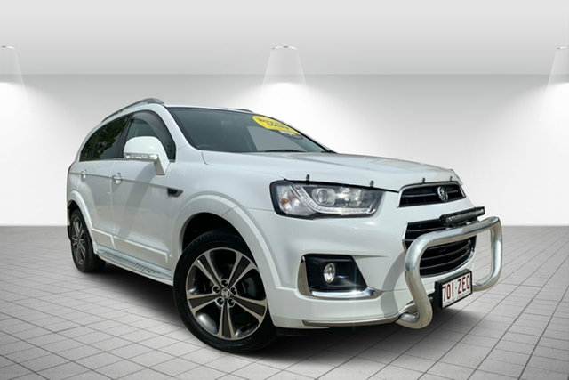 Used Holden Captiva CG MY17 LTZ AWD, 2017 Holden Captiva CG MY17 LTZ AWD Summit White 6 Speed Sports Automatic Wagon