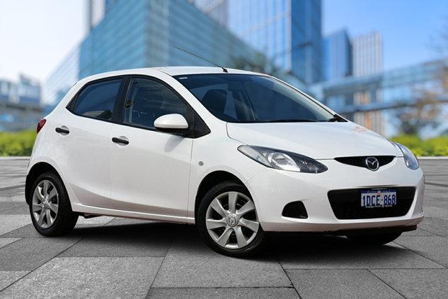 Used Mazda 2 DE10Y1 Neo, 2009 Mazda 2 DE10Y1 Neo White 4 Speed Automatic Hatchback