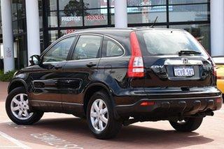 2009 Honda CR-V RE MY2007 Luxury 4WD Nighthawk Black 5 Speed Automatic Wagon.