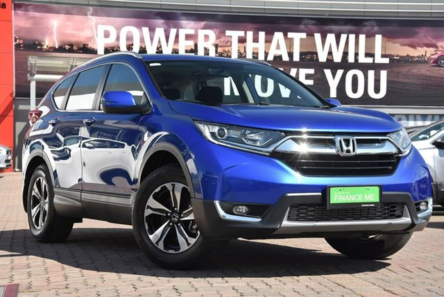 Used Honda CR-V RW MY18 VTi FWD, 2018 Honda CR-V RW MY18 VTi FWD Blue 1 Speed Constant Variable Wagon