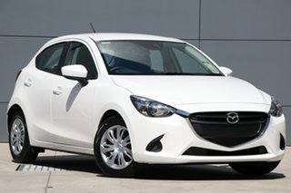 2019 Mazda 2 DJ2HAA Neo SKYACTIV-Drive Snowflake White 6 Speed Sports Automatic Hatchback.