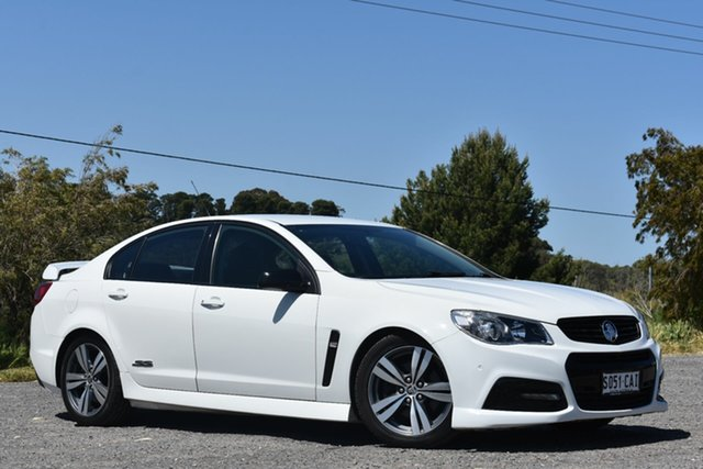 Used Holden Commodore VF MY14 SS, 2013 Holden Commodore VF MY14 SS White 6 Speed Sports Automatic Sedan