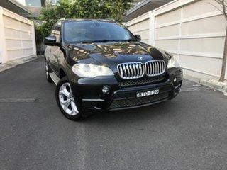 2010 BMW X5 E70 MY11 xDrive35i Steptronic Black 8 Speed Sports Automatic Wagon.