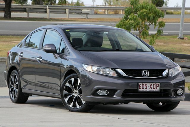 Used Honda Civic 9th Gen Ser II MY13 Sport, 2014 Honda Civic 9th Gen Ser II MY13 Sport Grey 5 Speed Sports Automatic Sedan