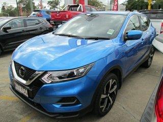 2018 Nissan Qashqai J11 Series 2 ST X-tronic Vivid Blue 1 Speed Constant Variable Wagon.
