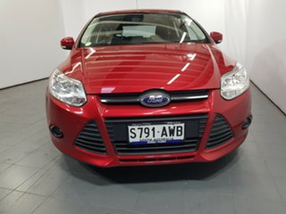 2013 Ford Focus LW MkII Trend Red 5 Speed Manual Hatchback.