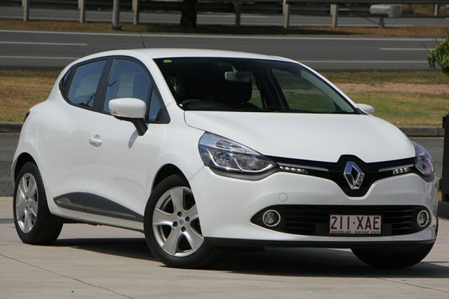 Used Renault Clio IV B98 Expression EDC, 2016 Renault Clio IV B98 Expression EDC White 6 Speed Sports Automatic Dual Clutch Hatchback