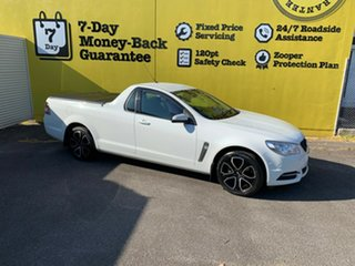 2013 Holden Ute VF MY14 Ute Heron White 6 Speed Sports Automatic Utility.