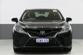 2018 Toyota Camry AXVH71R Ascent Sport (Hybrid) Black Continuous Variable Sedan.