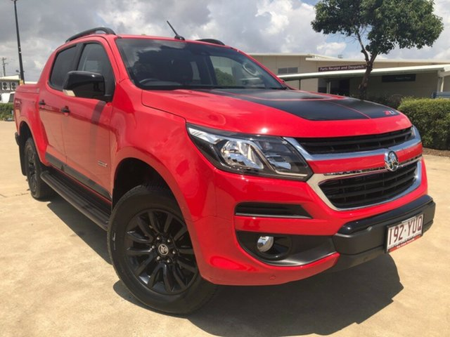 Used Holden Colorado RG MY19 Z71 Pickup Crew Cab, 2018 Holden Colorado RG MY19 Z71 Pickup Crew Cab Absolute Red 6 Speed Sports Automatic Utility