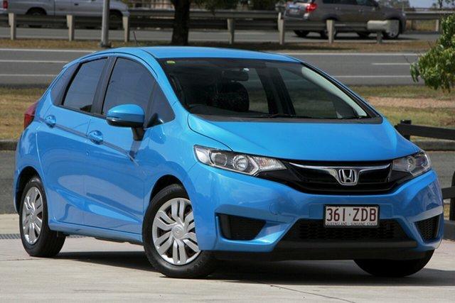 Used Honda Jazz GF MY15 VTi, 2015 Honda Jazz GF MY15 VTi Blue 5 Speed Manual Hatchback