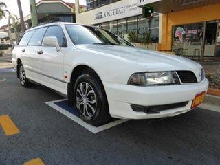 2002 Mitsubishi Magna TJ Advance White 4 Speed Automatic Wagon