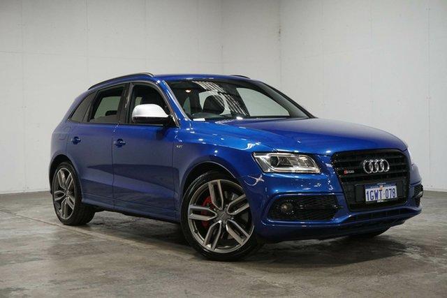 Used Audi SQ5 8R MY16 TDI Tiptronic Quattro, 2015 Audi SQ5 8R MY16 TDI Tiptronic Quattro Blue 8 Speed Sports Automatic Wagon