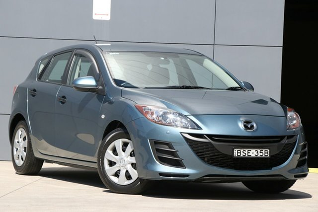 Used Mazda 3 BL10F1 Neo Activematic, 2010 Mazda 3 BL10F1 Neo Activematic Blue 5 Speed Sports Automatic Hatchback