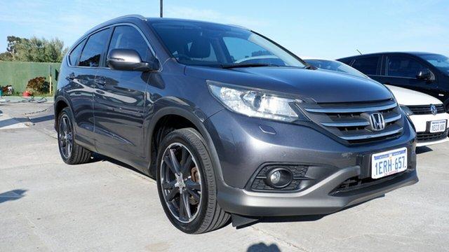 Used Honda CR-V RM MY14 DTi-L 4WD, 2014 Honda CR-V RM MY14 DTi-L 4WD Grey 5 Speed Sports Automatic Wagon