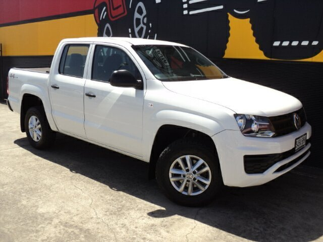 Used Volkswagen Amarok 2H MY17 TDI420 4MOTION Perm Core, 2017 Volkswagen Amarok 2H MY17 TDI420 4MOTION Perm Core Candy White 8 Speed Automatic Utility