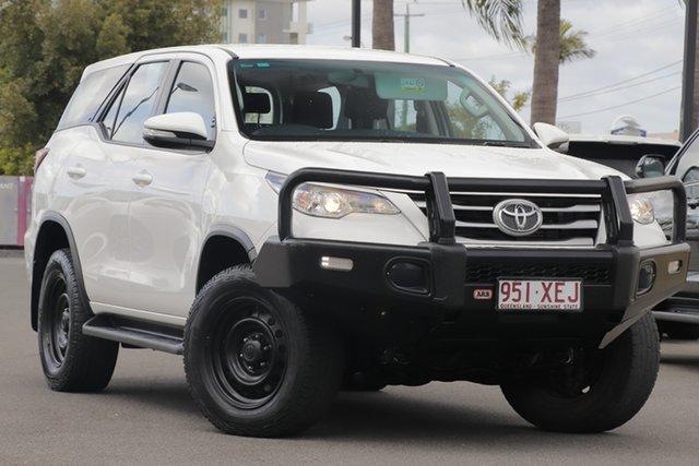 Used Toyota Fortuner GUN156R GX, 2017 Toyota Fortuner GUN156R GX White 6 Speed Automatic Wagon