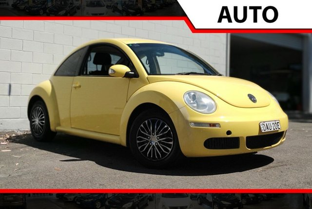 Used Volkswagen Beetle 9C MY2008 Miami Coupe, 2008 Volkswagen Beetle 9C MY2008 Miami Coupe Yellow 6 Speed Sports Automatic Liftback