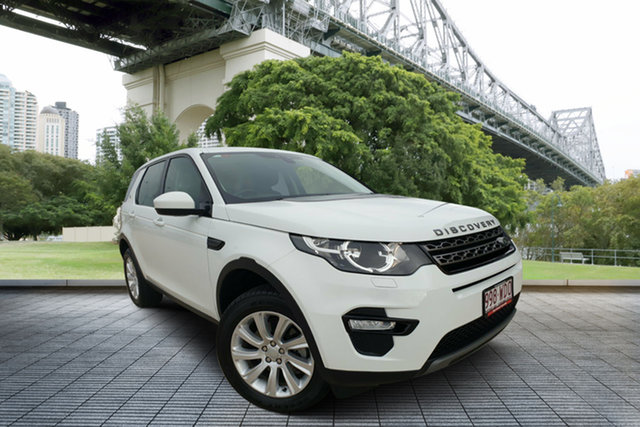 Used Land Rover Discovery Sport L550 16.5MY Td4 SE, 2015 Land Rover Discovery Sport L550 16.5MY Td4 SE White 9 Speed Sports Automatic Wagon