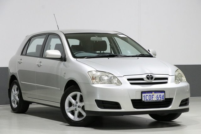 Used Toyota Corolla ZZE122R Ascent Sport, 2006 Toyota Corolla ZZE122R Ascent Sport Silver 4 Speed Automatic Hatchback