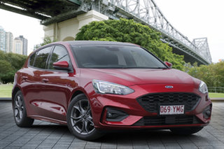 2018 Ford Focus SA 2019MY ST-Line Red 8 Speed Automatic Hatchback.