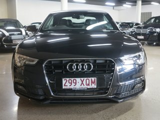 2014 Audi A5 8T MY14 S Tronic Quattro Black 7 Speed Sports Automatic Dual Clutch Cabriolet
