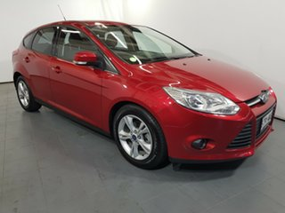 2013 Ford Focus LW MkII Trend Red 5 Speed Manual Hatchback