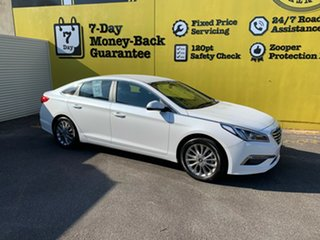 2016 Hyundai Sonata LF2 MY16 Active White 6 Speed Sports Automatic Sedan.