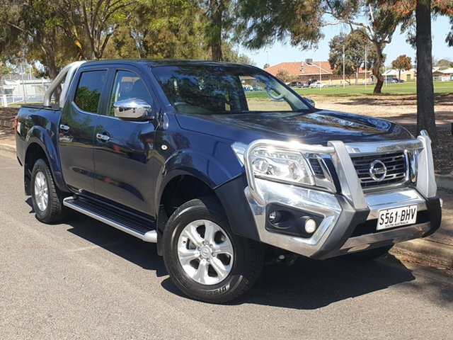 Used Nissan Navara D23 ST, 2015 Nissan Navara D23 ST Blue 6 Speed Manual Utility