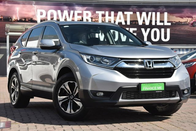 Used Honda CR-V RW MY18 VTi FWD, 2018 Honda CR-V RW MY18 VTi FWD Silver 1 Speed Constant Variable Wagon