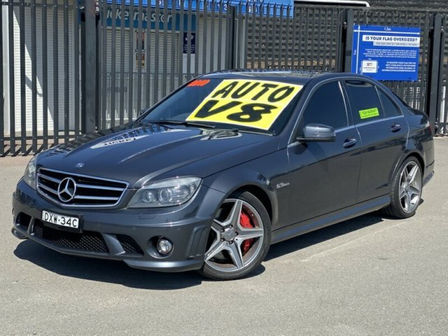 Used Mercedes-Benz C-Class W204 C63 AMG, 2010 Mercedes-Benz C-Class W204 C63 AMG Grey 7 Speed Sports Automatic Sedan